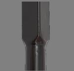 Стык профилированной трубы с винтовой сваей